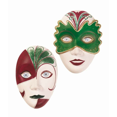 "Moule motifs ""masques"" - Knorr Prandell"