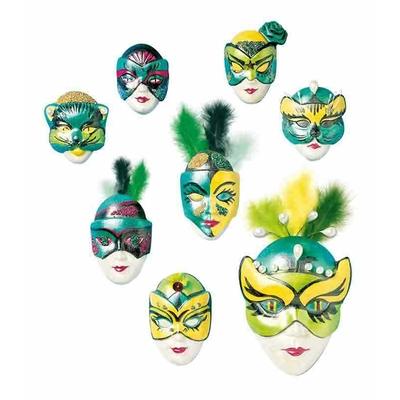 "Moule motifs ""masques miniatures 2"" - Knorr Prandell"