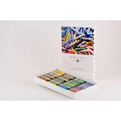 Etui en carton de  48 pastels à l'Ecu