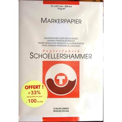 Bloc Papier Layout pour marqueur - 75g/M2