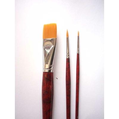 Set de 3 pinceaux  Huile et acrylique - Manet