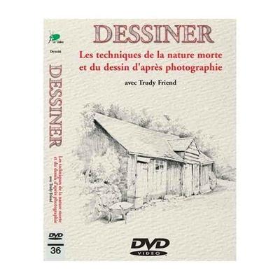 DVD - Dessiner - Les techniques de la nature morte  et du dessin d'après photographie