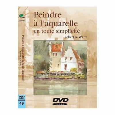 DVD - Peindre à l'aquarelle en tout simplicité