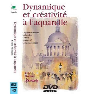 DVD - Dynamique et créativité à l'aquarelle