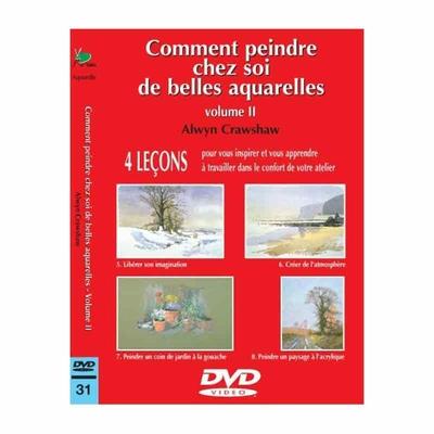 DVD - Comment peindre chez soi de belles aquarelles - 2