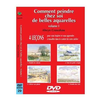 DVD - Comment peindre chez soi de belles aquarelles - 1