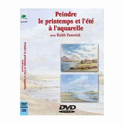 DVD - Peindre le  printemps et l'été à l'aquarelle