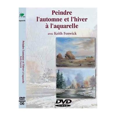 DVD -  Peindre l'automne et l'hiver à l'aquarelle