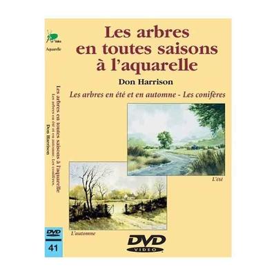 DVD -  Les arbres en toutes saisons à l'aquarelle - Eté et Automne