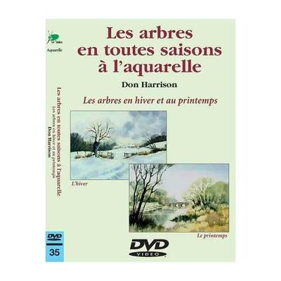 DVD -  Les arbres en toutes saisons à l'aquarelle - Hiver et Printemps