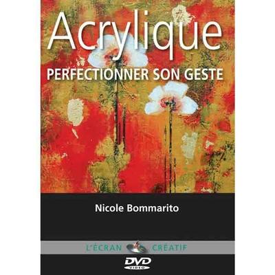 DVD l'écran créatif - Acrylique - Perfectionner son geste - Vol 3