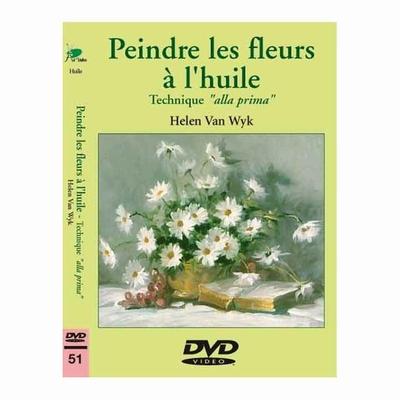 """DVD - Peindre les fleurs à l'huile """"alla prima"""""""