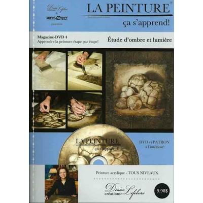 DVD Etude d'ombre et lumière - Denise Lefèbvre
