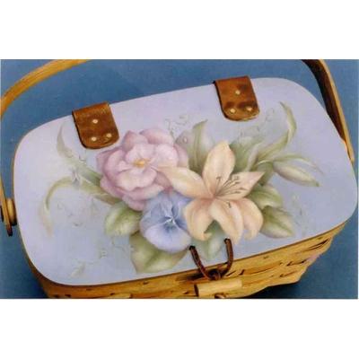 Summer pastel floral - Sharon Hamilton