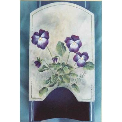 Wild violets - Julie Howlett