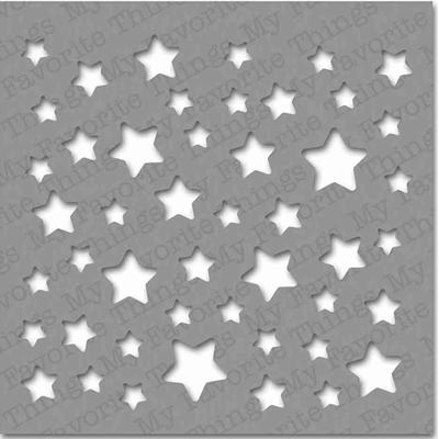 "Pochoir motifs ""étoiles"""