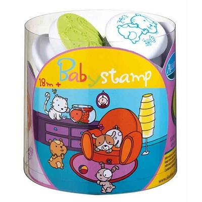Stampo Baby - Kit tampons et encreur pour enfants - Animaux familiers