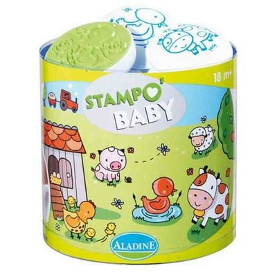 Stampo Baby - Kit tampons et encreur pour enfants - Ferme