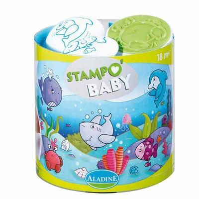 Stampo Baby - Kit tampons et encreur pour enfants - La mer
