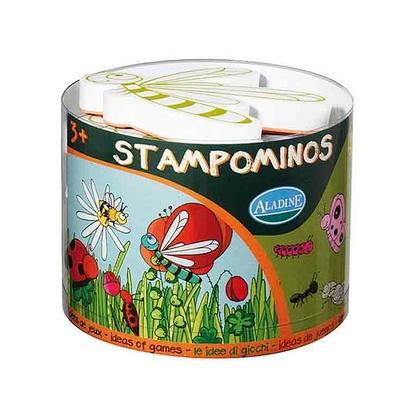 stampominos kit tampons et encreur pour enfants les insectes loisirs enfants pour les. Black Bedroom Furniture Sets. Home Design Ideas