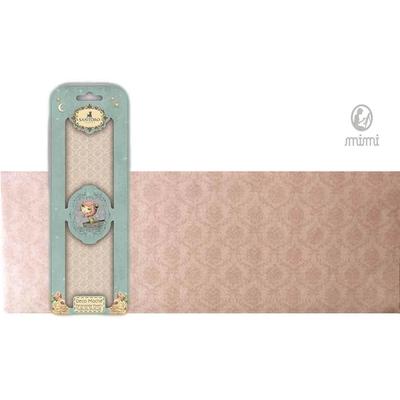 Papier découpage - Déco Maché - Santoro - Damas rose