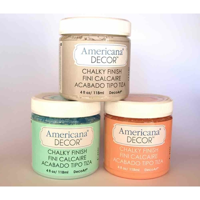 "Americana Decor - Peinture ""effet craie"" - Chalky Finish"