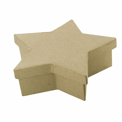 mini boîte forme étoile en carton