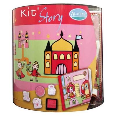 Kit story (Aladine) - Livre à illustrer - Les fées