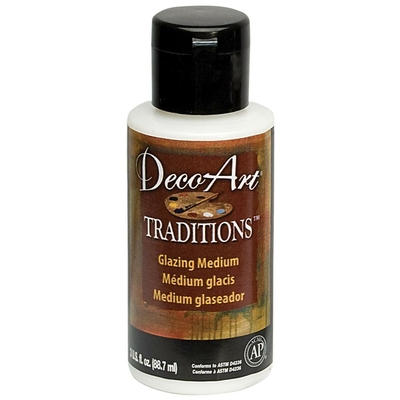 Médium pour Glacis (Glazing medium) - DecoArt Traditions