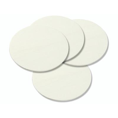 Set de 4 disques contreplaqués - 10 cm