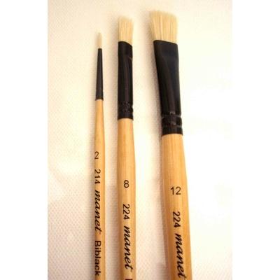 Set de 3 pinceaux  gouache Manet