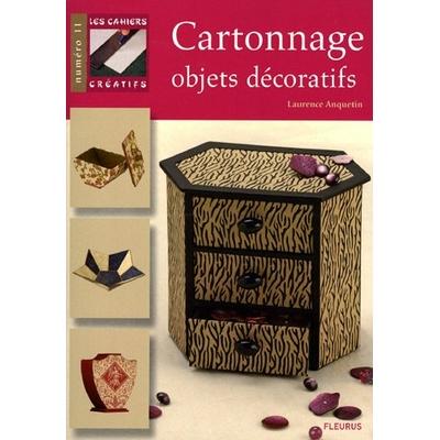 Cartonnage - Objets décoratifs - Laurence Anquetin