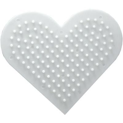 Bloc plastique  forme coeur pour nettoyer les pinceaux