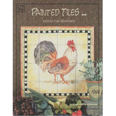 Painted Tiles?From the garden - Nance Wilhite-Kueneman