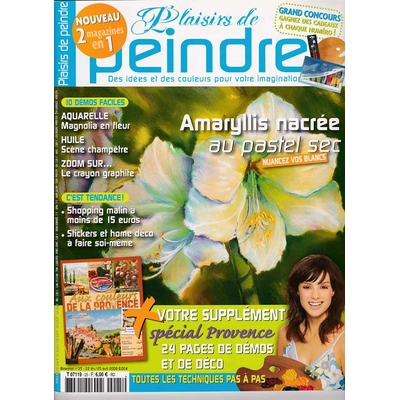 Revue Plaisirs de peindre - N°25 - fev/avr 2008