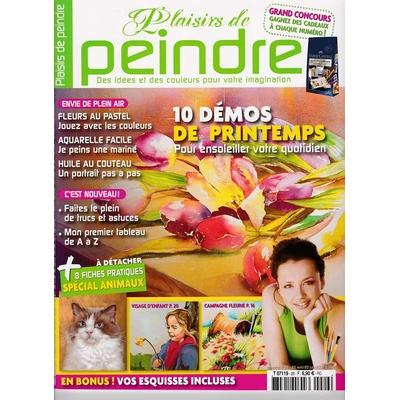 Revue Plaisirs de peindre - N°26 - avr/juin  2008