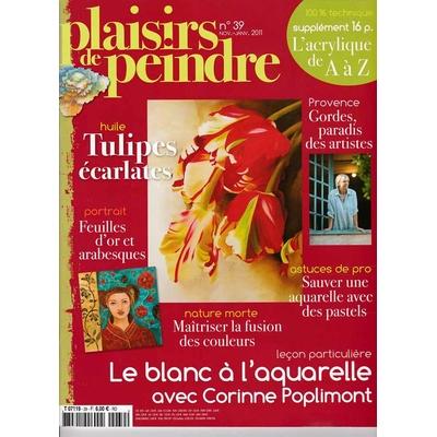 Revue Plaisirs de peindre - N°39 -nov/jan  2011