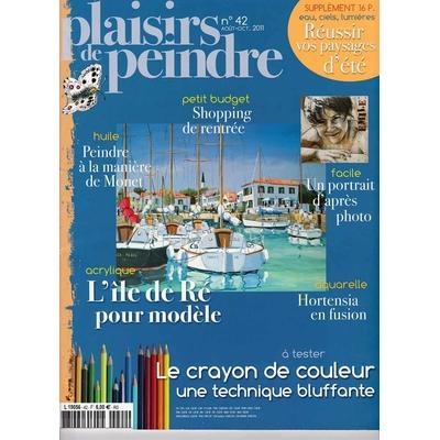 Revue Plaisirs de peindre - N°42 -août/oct  2011