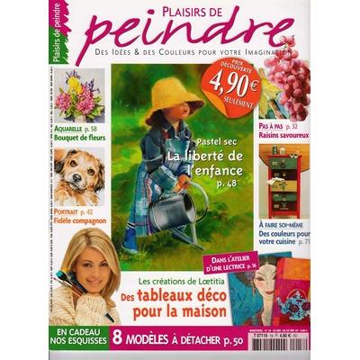 Revue Plaisirs de peindre N°18 - dec/fev 2007
