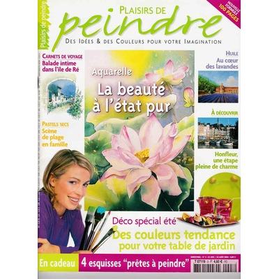 Revue Plaisirs de peindre - N°3 - juin/août 2004