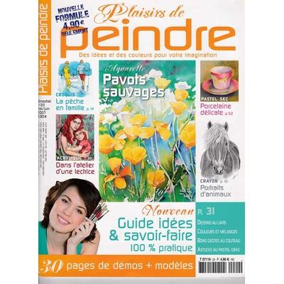 Revue Plaisirs de peindre - N°20 - mai/juin 2007