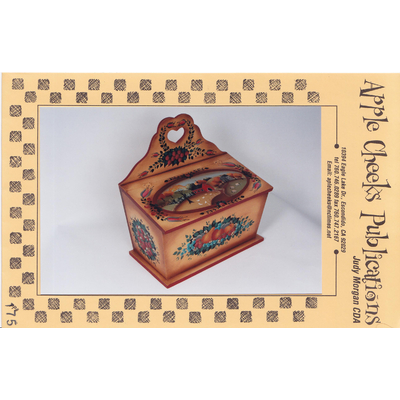 Americana Candle Box - Judy Morgan CDA