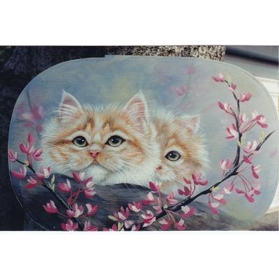 Kittens and REDBUD - Karen Hubbard