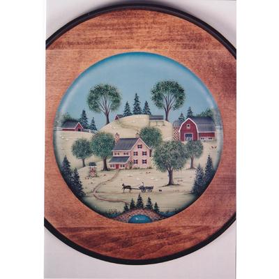 Primitive Country Scenes - Susan V. Cochrane