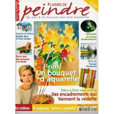 Revue Plaisirs de peindre - N°4 - août/oct 2004