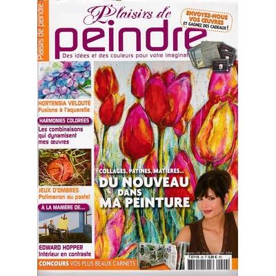 Revue Plaisirs de peindre - N°29 - oct/dec 2008