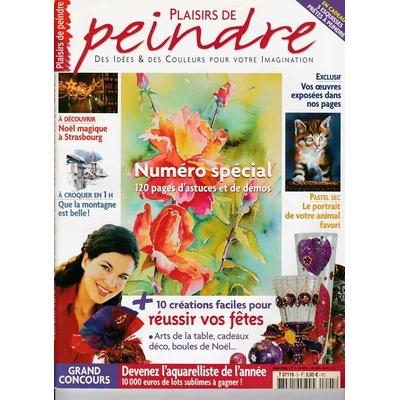 Revue Plaisirs de peindre - N°5 -oct/dec 2004