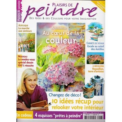 Revue Plaisirs de peindre - N°6 -dec/fev 2005