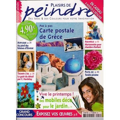 Revue Plaisirs de peindre - N°19 -fev/avr 2007