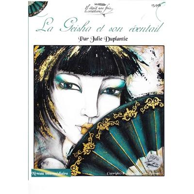 La geisha et son éventail - Julie Duplantie